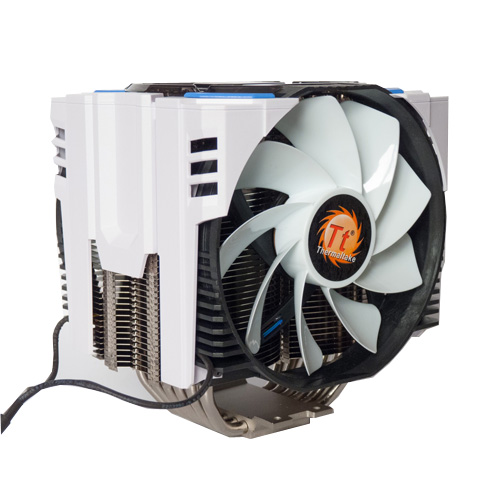 Quat tan nhiet Thermaltakes CPU Cooler Frio OCK Snow Edition CLP0604