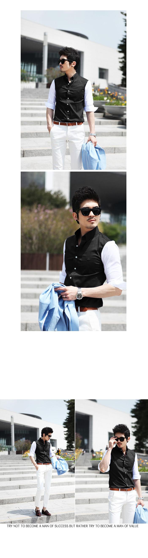 Ao so mi Den tay trang ASM461