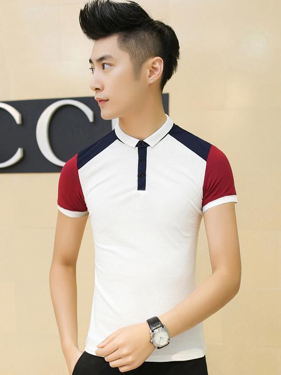 Ao Thun Ca Sau Trang AT539