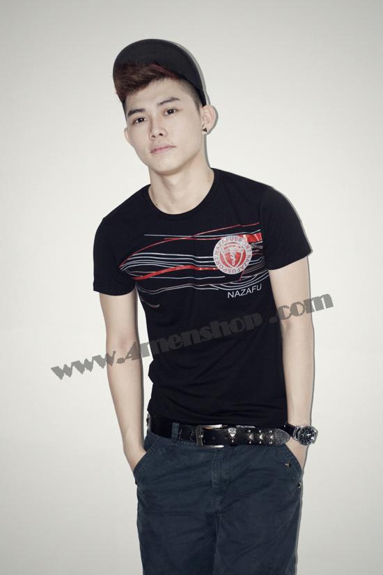 Ao Thun Nam AT0217 Den