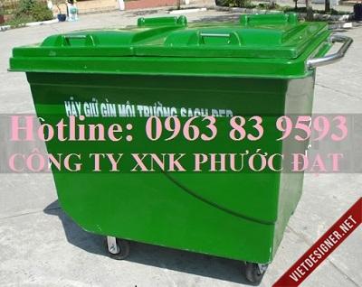 Ban thung dung rac cong cong loai lon gia canh tranh