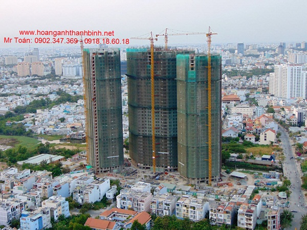 Can ho 2 PN Hoang Anh Thanh Binh Chi tu 168 tycan