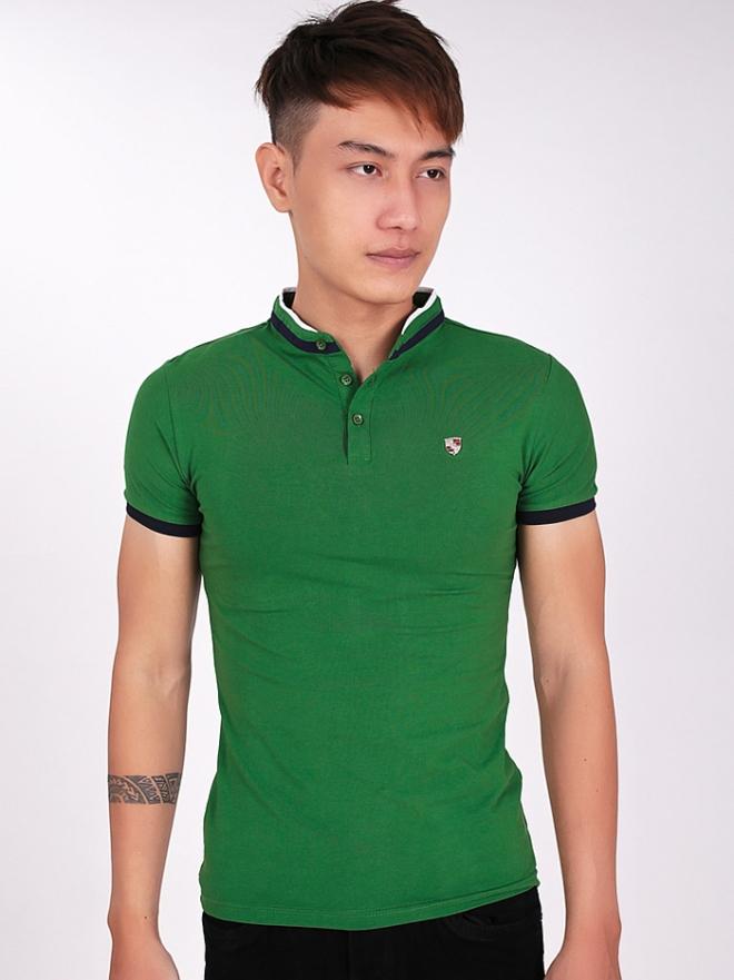 Ao Thun Co Co Xanh La Cay AT554