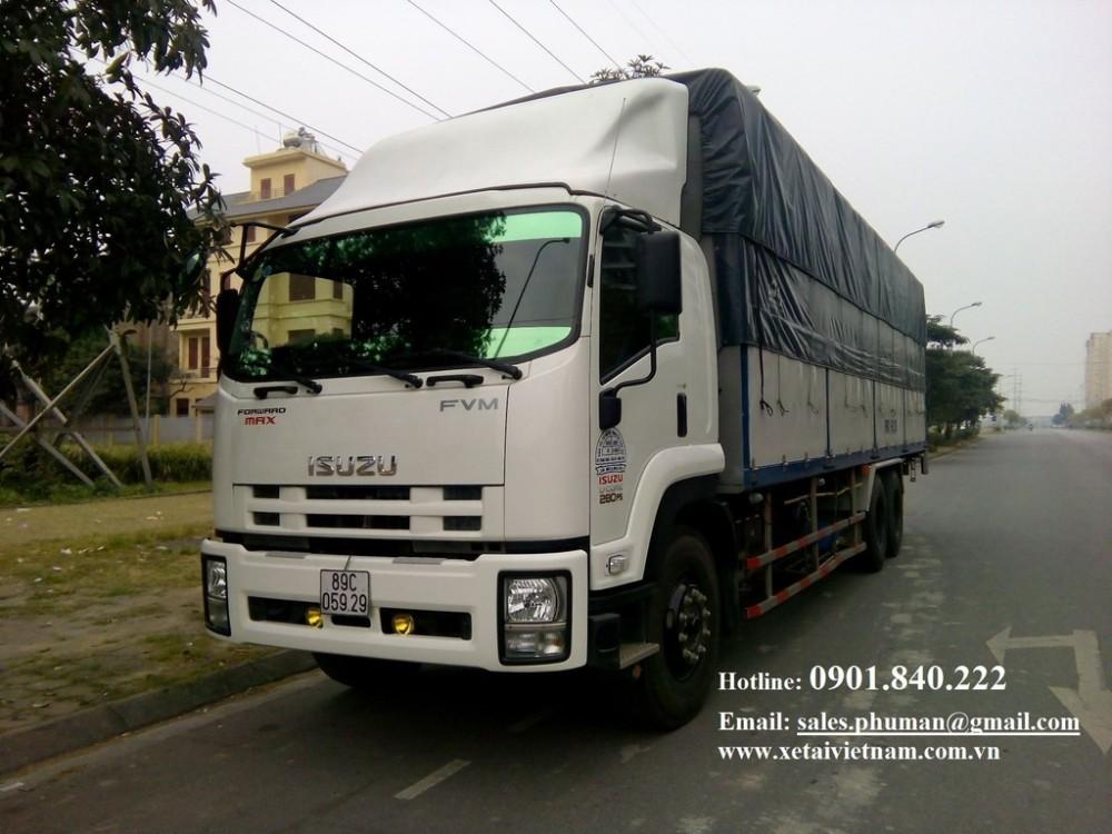 Dai ly tai Binh Duong TPHCM ban xe tai Isuzu 14 tan 19 tan 35 tan 55 tan 6 tan 3 gio