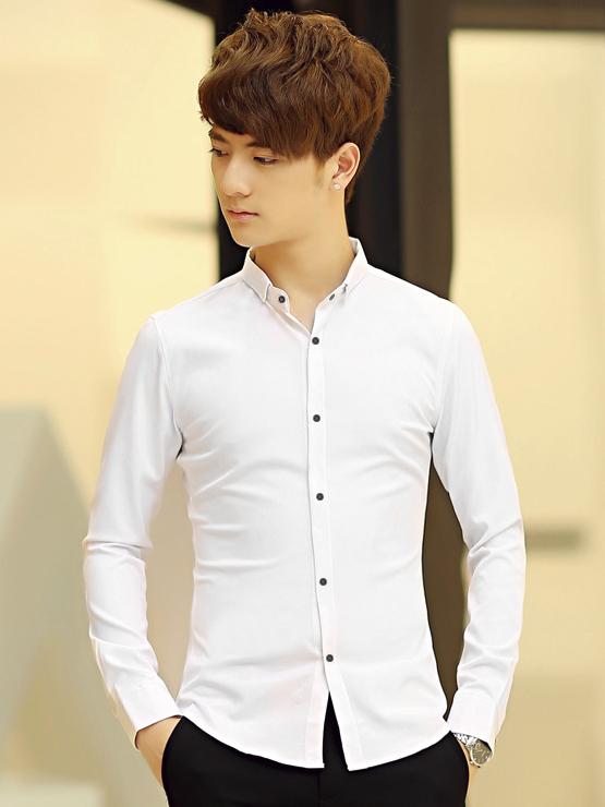 Ao So Mi Han Quoc Trang ASM714