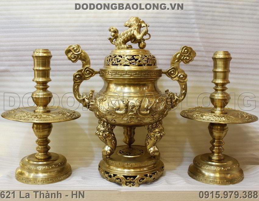Bo Tam Su Duc Long Phung Noi Cao 65cm