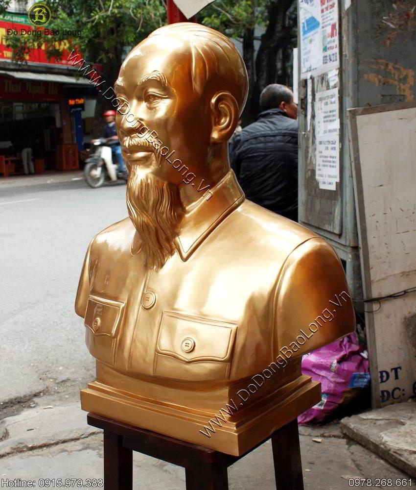 Tuong Dong Bac Ho Cao 70cm