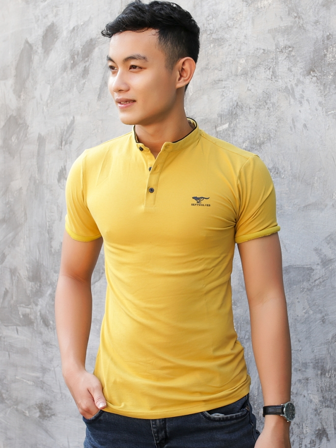 Ao Thun Ca Sau Vang AT580