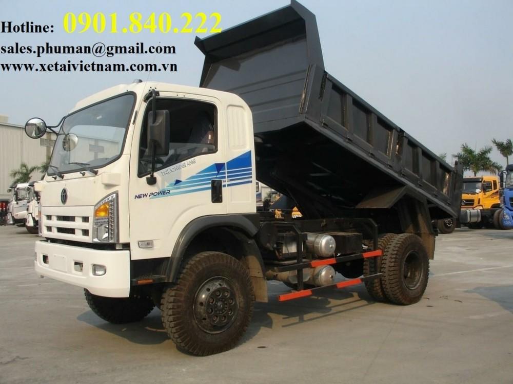 Ho tro tra gop lai suat thap khi mua xe ben Dongfeng 81 tan 78 tan 2 cau