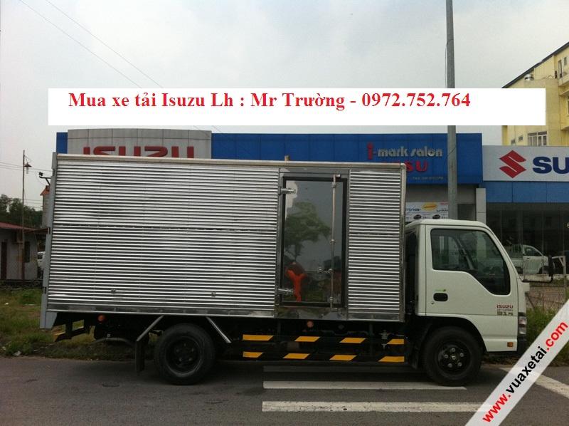 xe tai isuzu 19 tan QKR55H 1T9 thung kin