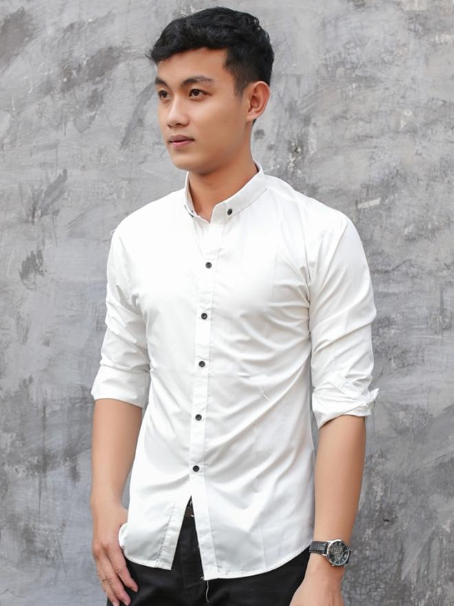 Ao So Mi Han Quoc Trang ASM751