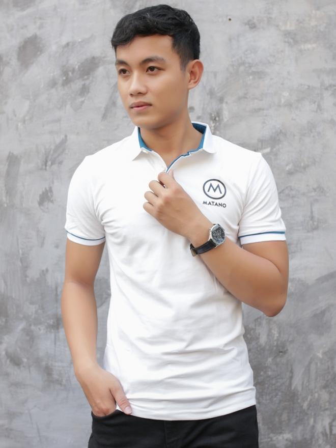Ao Thun Ca Sau Trang Kem AT585