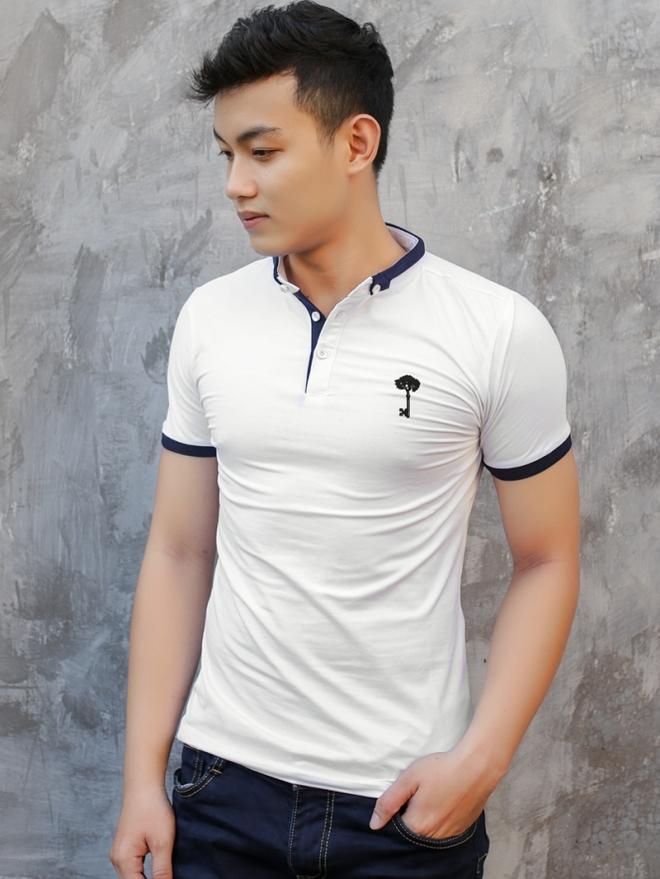Ao Thun Co Co Trang Kem AT576