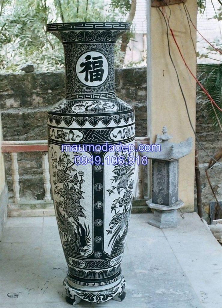 Ban Mau Lo Hoa Luc Binh bang da dep