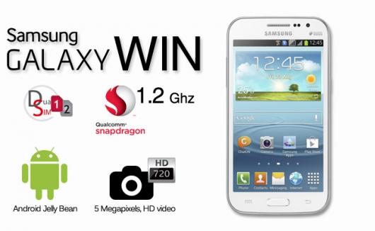 Dien thoai Samsung Galaxy win i8552 Likenew Full Box