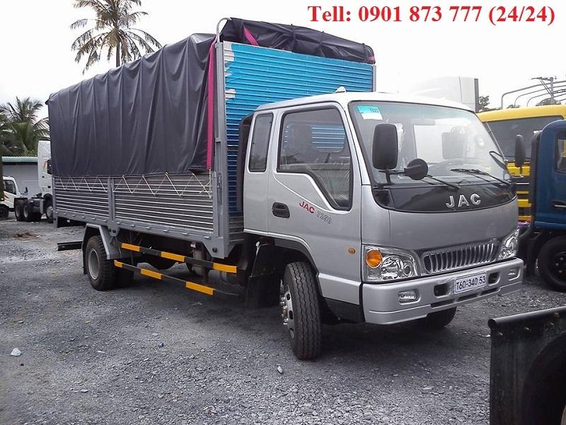 JAC 725 tan 7t25 cong nghe Isuzu Nhat Ban Gia ban xe tai JAC 725 tan JAC 7t25 tot nhat Sai Gon