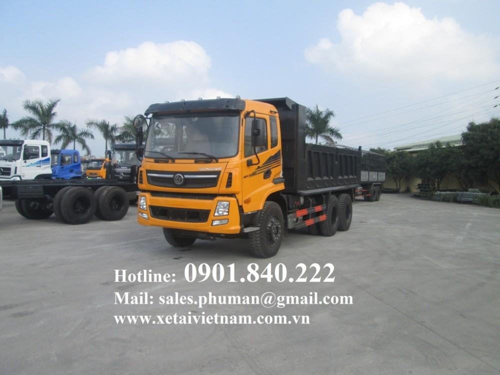 Ban xe ben Dongfeng 81 tan Dongfeng Truong Giang 78 tan 2 cau gia re xe co san giao ngay