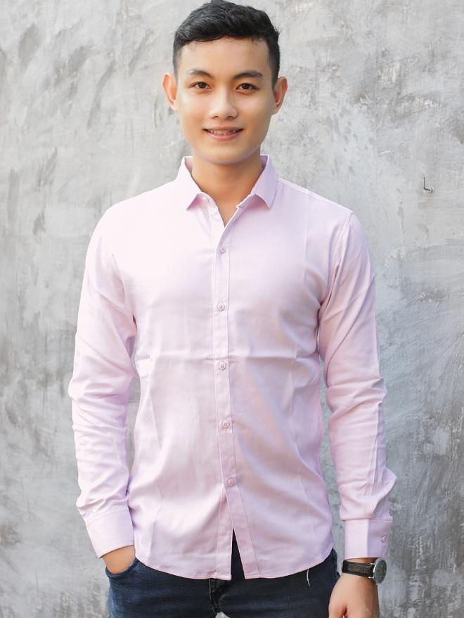 Ao So Mi Han Quoc Hong Phan ASM740