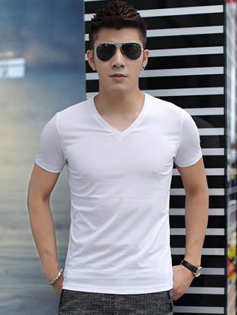 Ao Thun Co Tim Trang AT541