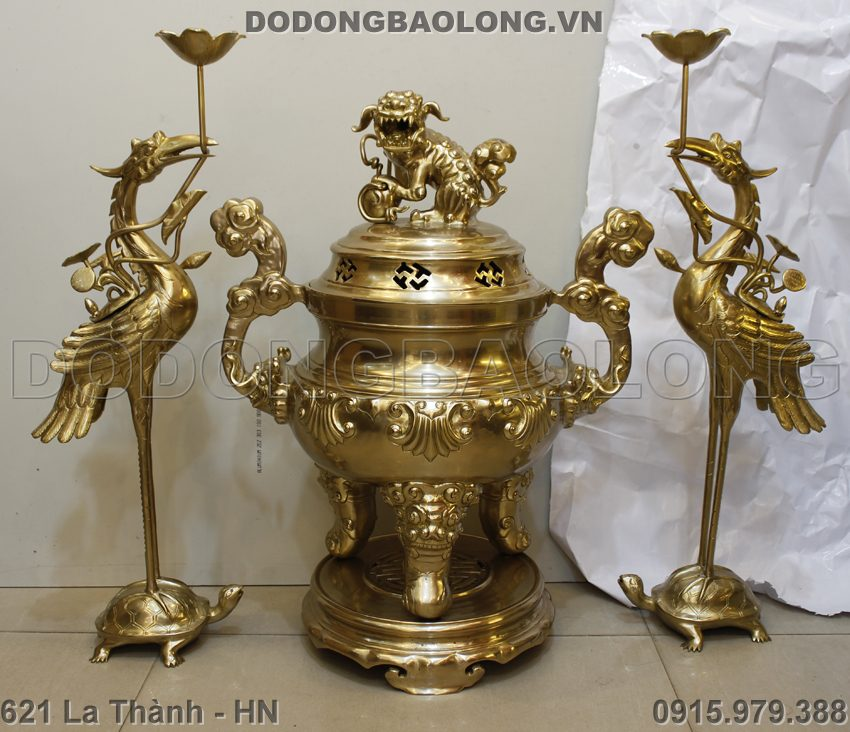 Bo Tam Su Bang Dong Thau Cao 70cm