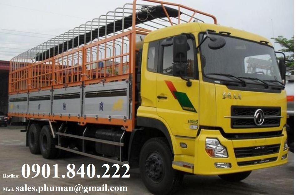 Noi cung cap xe tai Dongfeng Hoang Huy B170 875 tan Dongfeng Hoang Huy B190 845 tan gia tot nhat