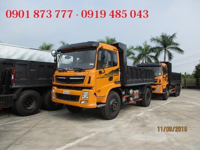 Cong ty ban xe ben Dongfeng Truong Giang gia re Mua xe ben tu do Dongfeng 7T8 9T2 13T3 giao ngay