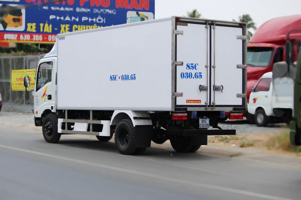 Gia ban xe tai Veam 35 tan VT3503T5 thung dai 4m9 6m2 may Hyundai tot nhat Veam 35T3T535 tan