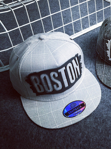 Non Snapback Boston Xam Chuot N163