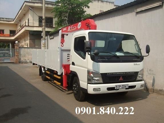 Gia ban xe tai gan cau Mitsubishi 1 tan 2 tan 3 tan o TPHCM Binh Duong Dong Nai