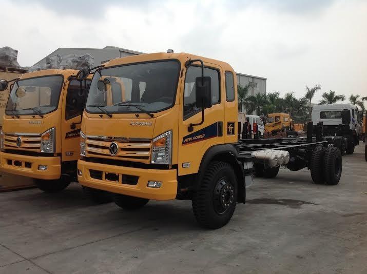 Dongfeng 96 tan 9T6 Hoang Huy Truong Giang gia tot nhat Cong ty ban xe tai thung Dongfeng 96 tan