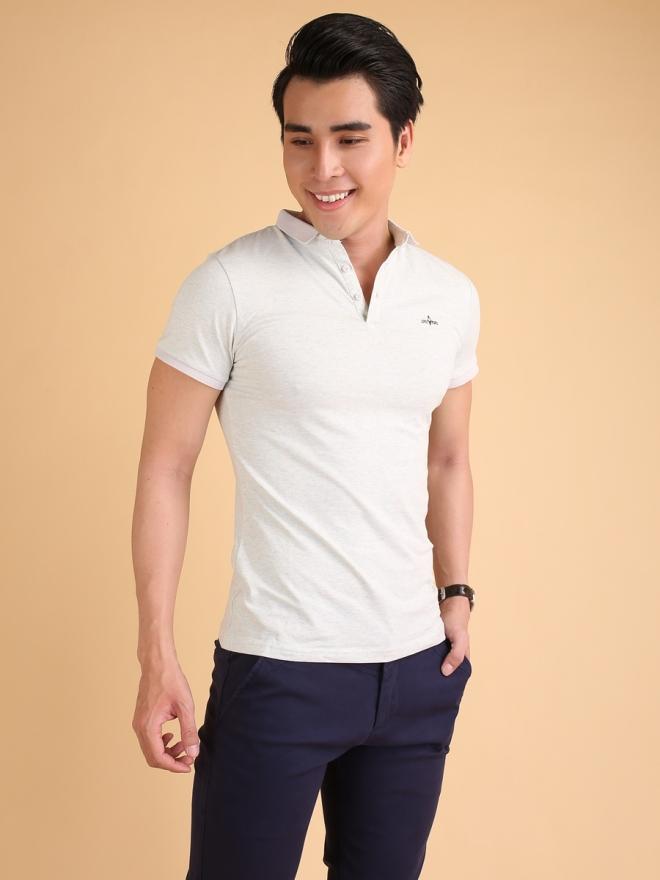 Ao Thun Co Co Trang Kem AT594