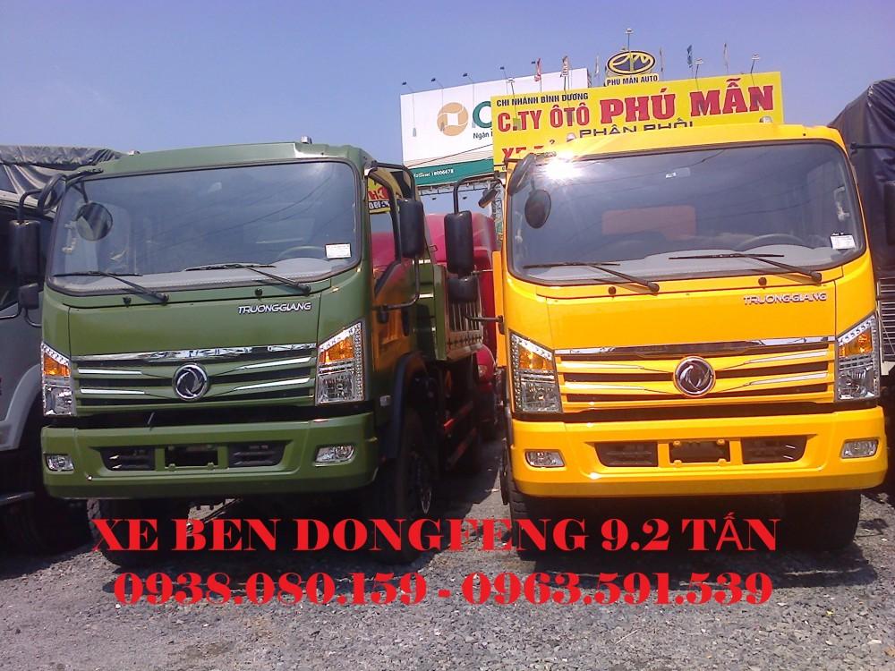 Ban xe ben Dongfeng 92 tan 10 tan gia tot nhat Dai ly ban xe ben Dongfeng 92 tan 10 tan