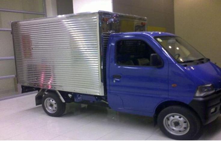 Ban xe tai Dongben 700 kg 800kg 850 kg thung bat thung kin giao ngay tai thu duc