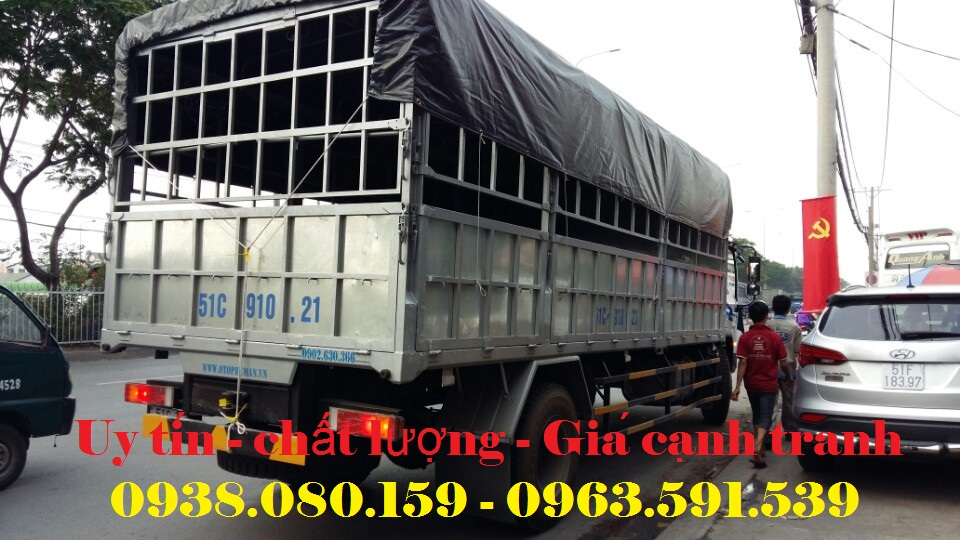 Ban xe tai Dongfeng Truong Giang 8 tan gia tot nhat thi truong xe tai Dongfeng Truong Gi