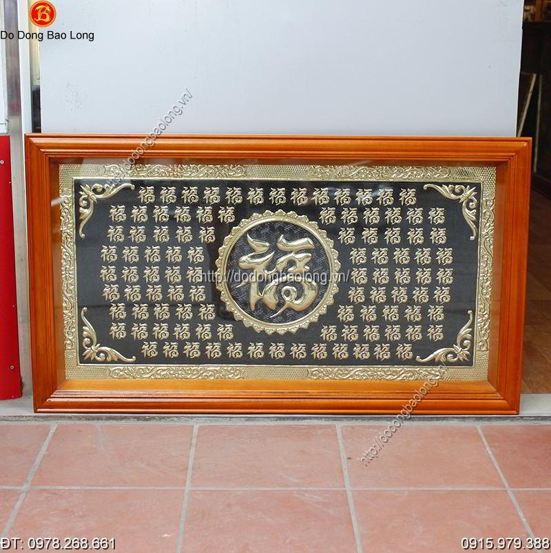 Tranh Bach Phuc Bang Dong 1m1 x 60cm