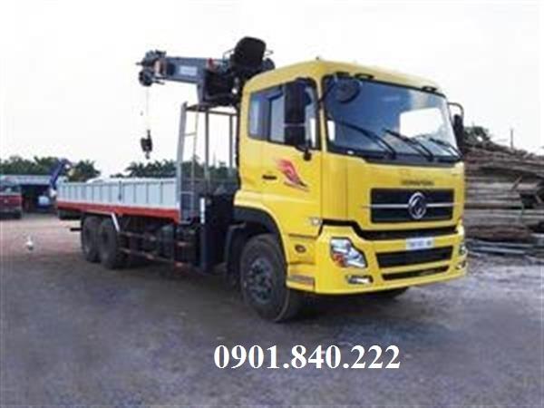 Xe tai Dongfeng L340 5 chan L315 4 chan C260 3 chan B190 gan cau 3 tan 4 tan 5 tan 6 tan