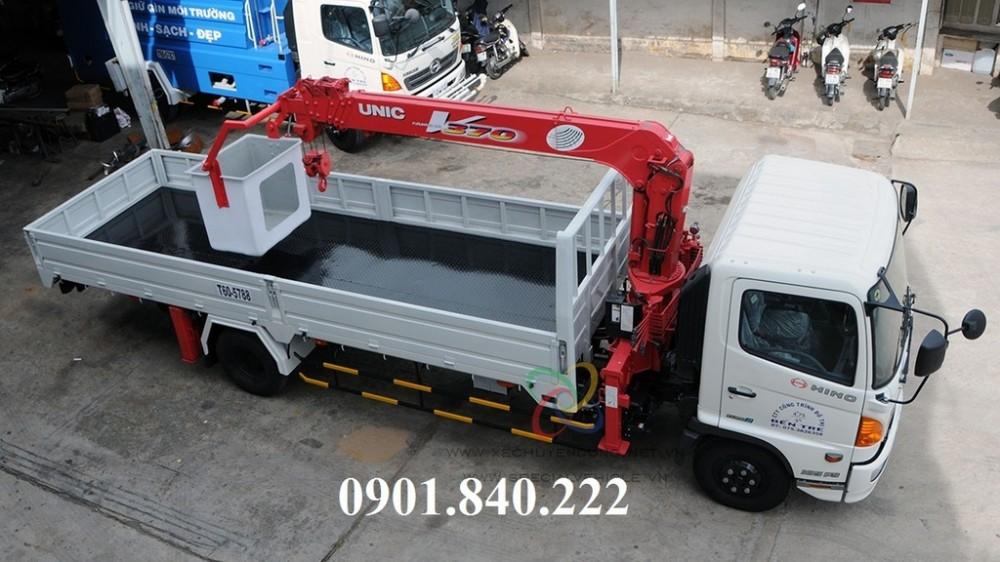Noi ban xe tai Hino 8 tan 9 tan gan cau Unic 3 tan 4 tan uy tin gia re o TPHCM Binh Duong