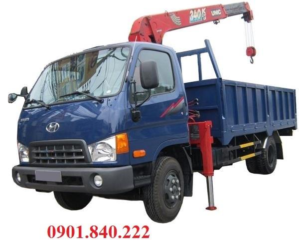 Xe tai Hyundai 85 tan 10 tan 116 tan 14 tan gan cau Unic 3 tan 4 tan 5 tan gia bao nhieu tien