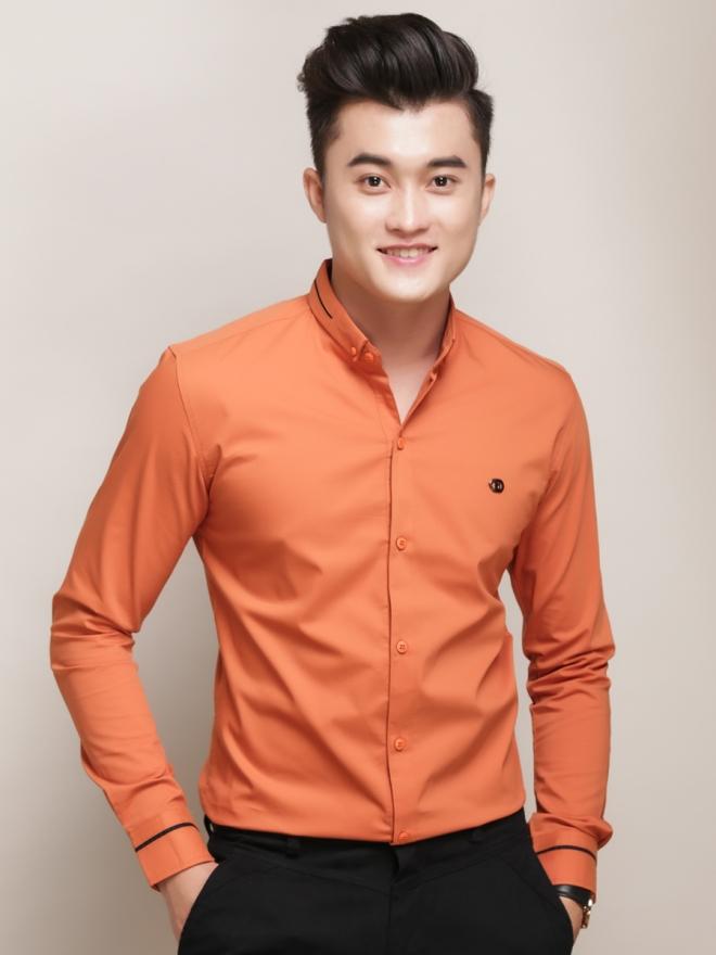 Ao So Mi Han Quoc Cam ASM775