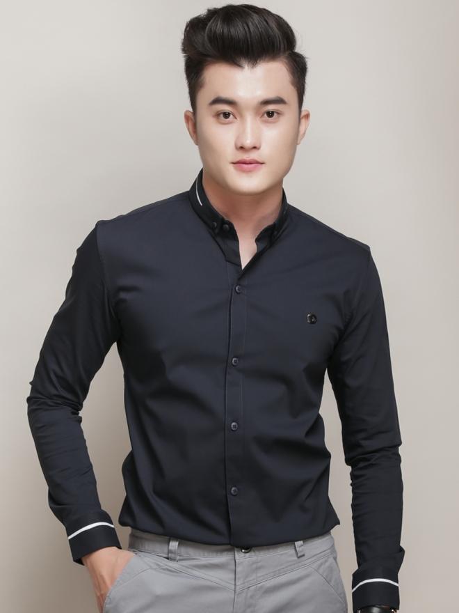 Ao So Mi Han Quoc Den ASM775