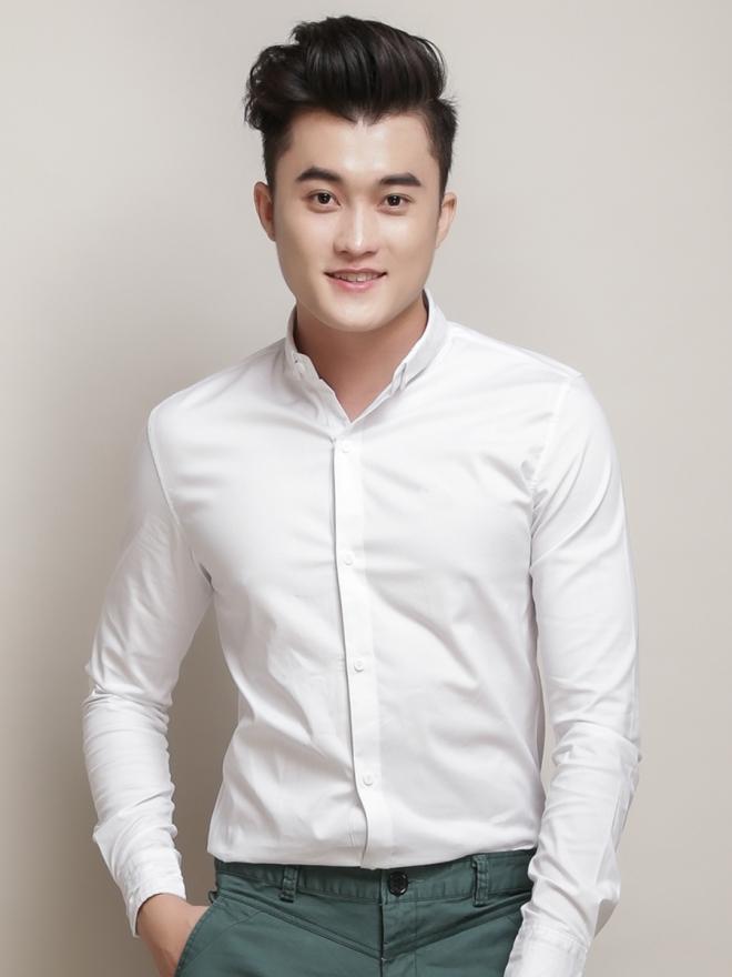 Ao So Mi Han Quoc Trang Kem Tron ASM777