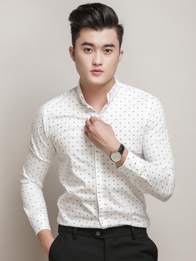 Ao So Mi Hoa Tiet Trang ASM770