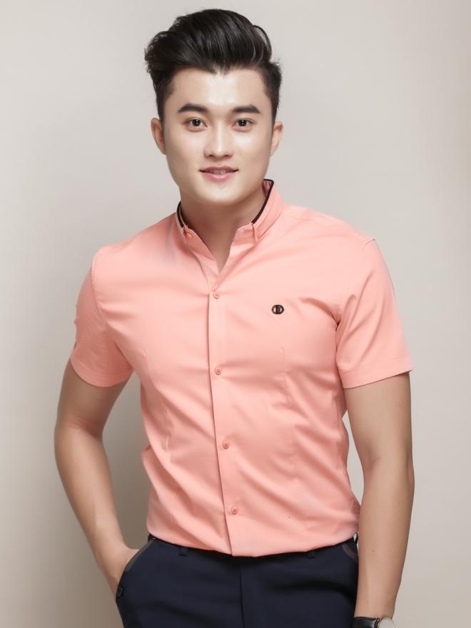 Ao So Mi Ngan Tay Hong ASM776