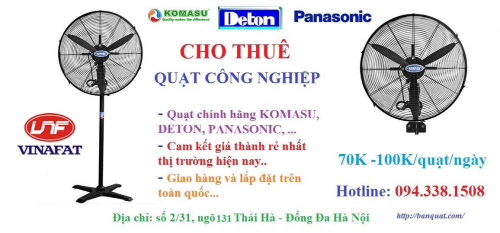 Cho thue quat cong nghiep gia re tren toan quoc
