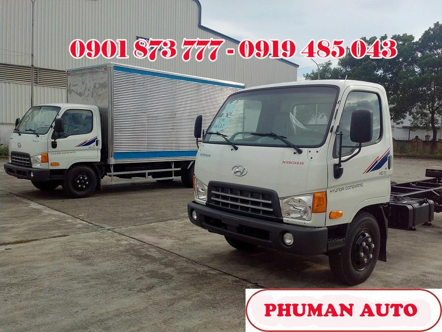 Xe tai 7 tan Hyundai HD700 Veam xe tai Hyundai Mighty HD700 thung kin Gia xe tai hyundai 7 tan