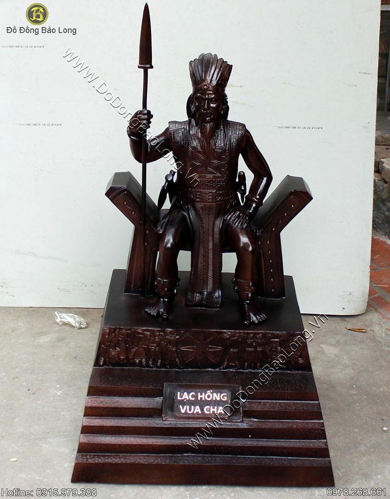 Duc Tuong Dong Vua Hung Cao 1m07