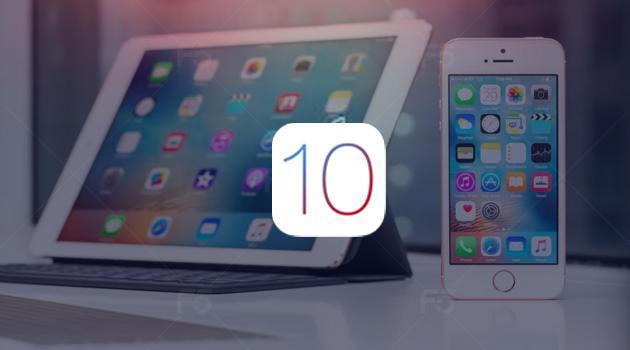 IOS 10 cho go bo ung dung mac dinh