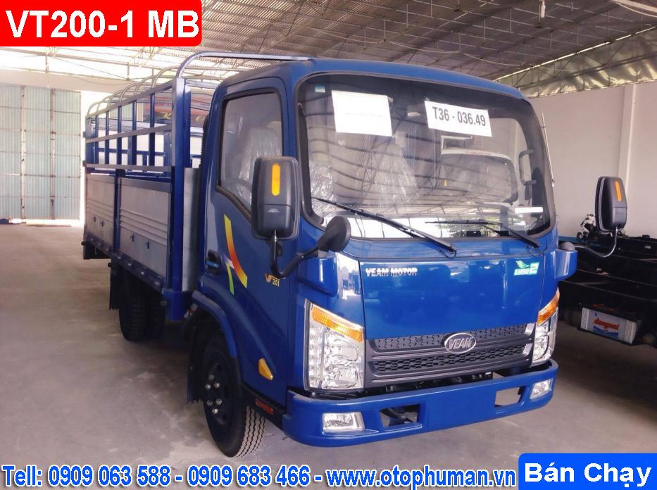 Dia chi ban Xe tai VEAM VT2001 2 Tan Thung Mui Kin doi 2016 Ban xe tai veam vt260