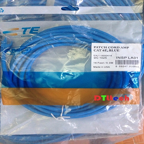 Patch cord day nhay AMP Day Patch cord Cat6e AMPDay Patch cord Cat5e