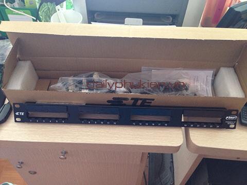 Thanh dau noi mang Patch panel 24port Cat6 AMP gia re